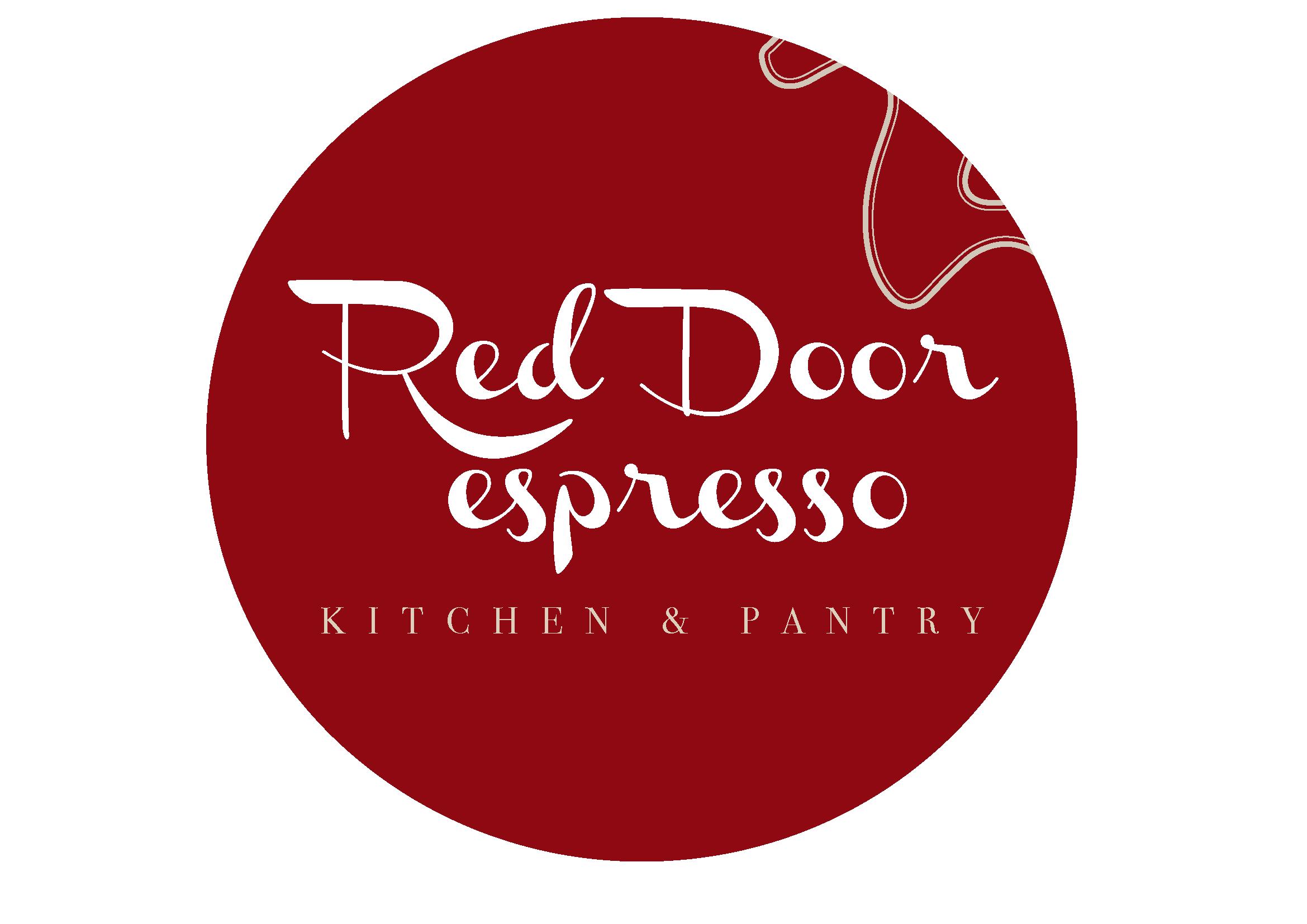Red Door espresso